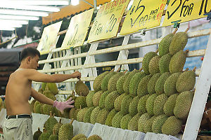 Racking Up The Durian