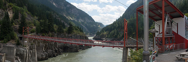 Suspension Bridge At Hells Gate