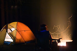 Helen Tent And Fire