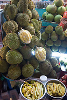 Pile Of Fresh Durian