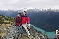 Helen And I On A Mountain
