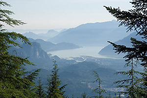 View Out Howe Sound