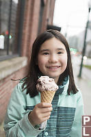 Nara With Her Ice Cream