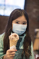Nara With Ice Cream