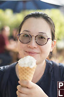 Helen With Icecream
