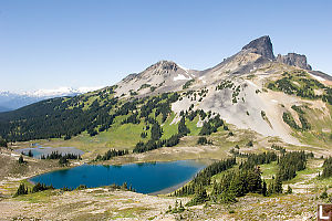 Black Tusk And Two Lakes